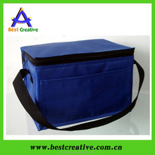 Portable thermal food warmer bag 6 can cooler bag
