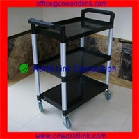 Manufacture Medical and 4 Wheels Plastic Utility Trolley for Sale