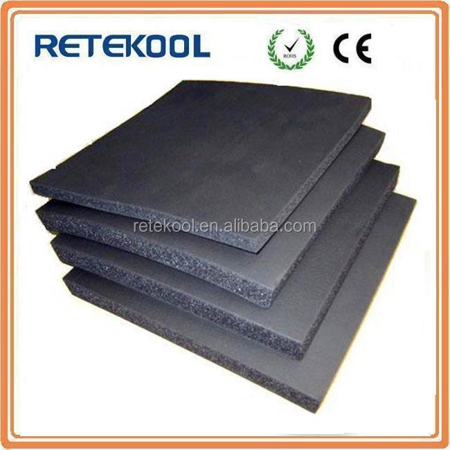 rubber foam plastic thermal insulation sheet roll
