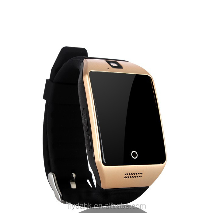 smart watch q18s with touch screen camera TF Card sim card bluetooth smart watch Q18s watch phone.