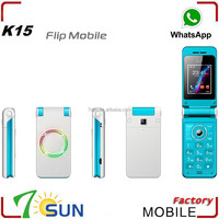 2015 new products flip phone K15 all china mobile phone models