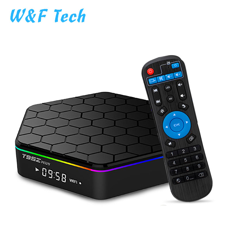 2018 T95Z plus firmware update android tv box S912 2gb 16gb Otca core high speed output android smart tv box 2.4G <strong>wifi</strong>