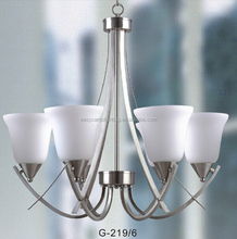 Modern Adjustable Chandelier,modern polished nickel chain hanging chandelier (G-219-5 & G-219-3)