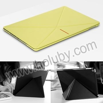 ROCK Pagoda Series Origami Smart Wake Sleep Leather Case for iPad Air 2