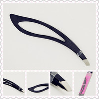 Professional eyebrow tweezer with led light for wholesales