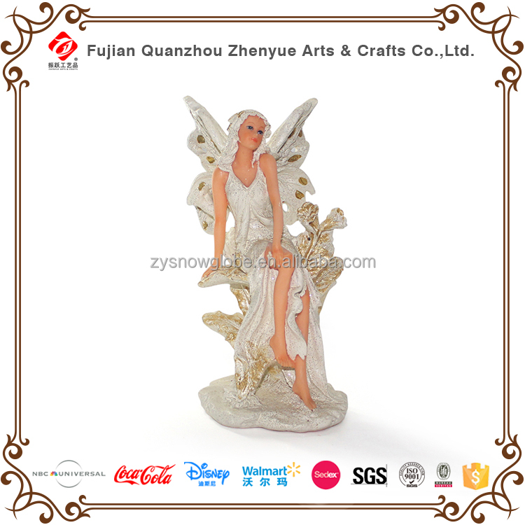 New fairy angel sculpture for decoration and souvenir
