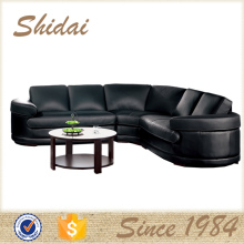 low back leather sofa / sofas in leather 5 sets / natural leather sofa 957