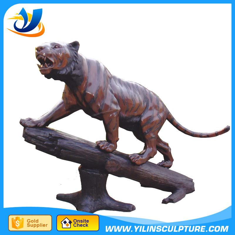 Antique bronze Panthera pardus sculpture bronze Cheetor sculpture bronze big cat sculpture for outdoor decoration