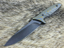 WK-34D Straight Blades Survival Camping Hunting Knives