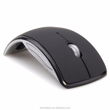 Wireless Mouse 2.4 Ghz Computer Mouse Foldable Folding Optical Mice USB Receiver for Laptop PC Computer Desktop