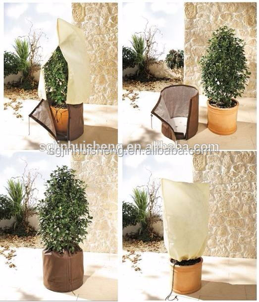 winter warmth PP polypropylene non woven fabric Flower cover bag
