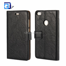 Hot Selling Products High quality PU Leather Kickstand Wallet Book Card Case Cover Pouch for Huawei P8 Lite 2017