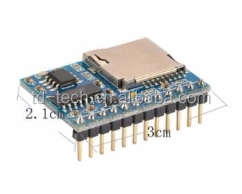 7 kinds playback mode control tf card music player module