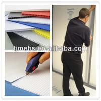 Double Wall Cardboard Polypropylene Corrugated Plastic Sheet