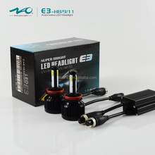 All-in-One LED Headlights for car H7 /H8/H9/H11 HB3/9005 HB4/9006 Bulb Auto Front Bulb 70W 6000lm Automobiles Headlamp 6500K