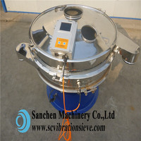 sanchen rotary ultrasonic screening equipement with sus 304 material