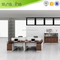 New Design High End Hot Sale 3 person office workstation/office furniture Made In China