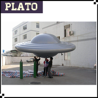 Inflatable UFO balloon, inflatable flying saucer, helium balloon