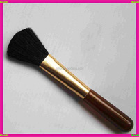 Baoli unique black goat hair plastic handle make up brush by hand made