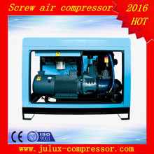 55kw 75hp oil inject double screw type air compresor industrial