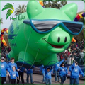 Customize Inflatable Helium Pig , Giant Inflatable Flying Pink Pig Balloons For Parade Events