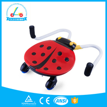 2015 New Lovely Toy Car For Kids Ladybird Twisting Car For Kids Gift Choice For Christmas Kids Swing Car With Music & Flashlight
