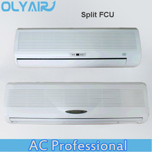 OlyAir hot water split high wall mounted fan coil unit,water chiller fan coil unit