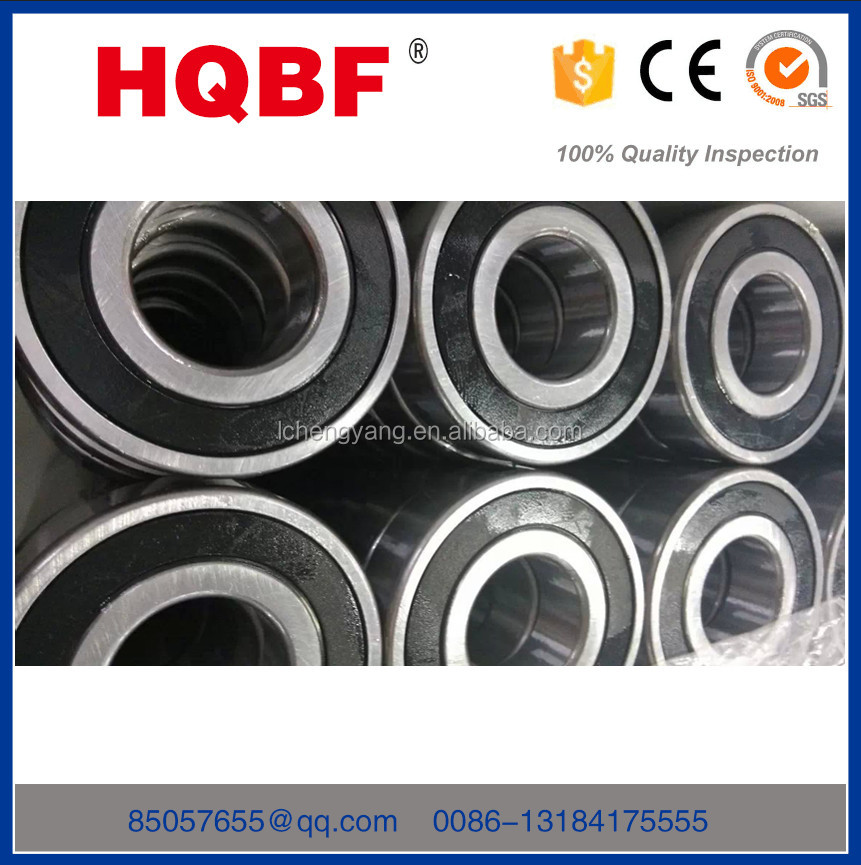 2016 HQBF hot sale low noise ball bearing deep groove ball bearing 6214 RS