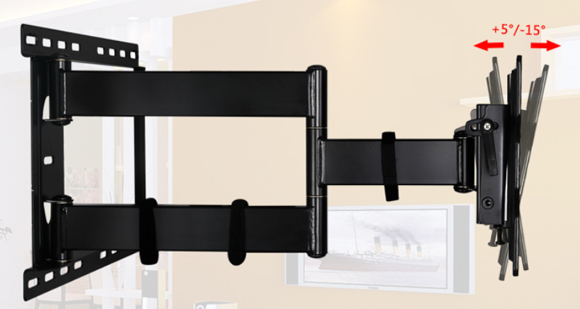Full motion TV Wall Mount bracket holder supports 26''-42'' lcd,led,plasma