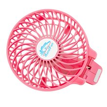 CE Air Cooling 5V DC Pocket Ventilator Li ion Battery Operated Handheld Mini Fan