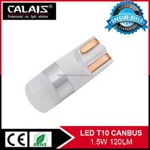 High quality canbus T10 194 W5W 168 LED auto bulbs with CE&ROHS certified
