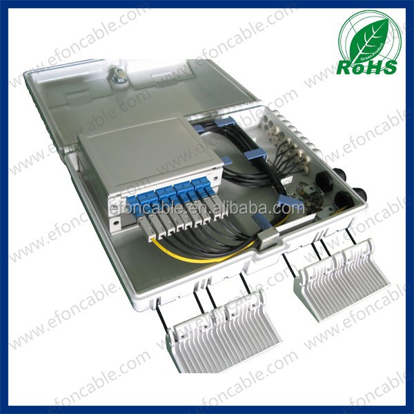 Perfect design 16 ports wall mounted or pole mounted fiber distribution box