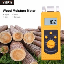 NEW DM200P Digital Paper Moisture Meter Tester 0-50% Papers hygrometer High Performance Portable