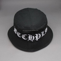 CUSTOM-MADE EMBROIDERY LOGO COTTON BUCKET HATS
