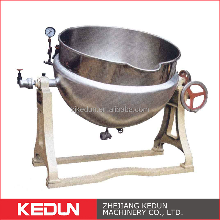 Soup Food Equipment Steam Heating Electric Jacket Outdoor Cooking Kettles