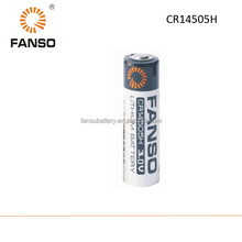 CR14505H AA 3V 2000mah lithium Limno2 primary battery