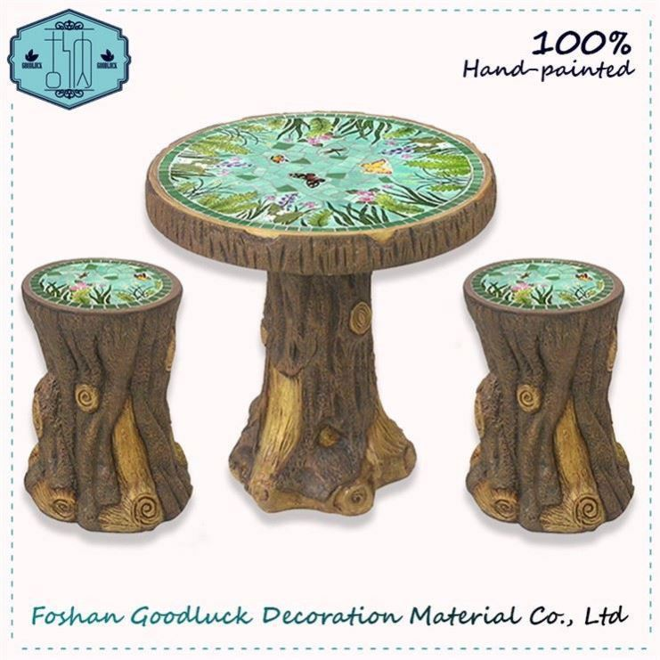 Sale Hand Painted Table Set Garden Style Of Japanese Outdoor Furniture