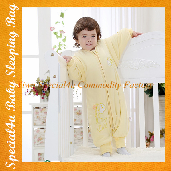 SHLY-1909 100% Cotton kids sleeping bag Baby Sleeping Bag/Baby Sleeping Sacks