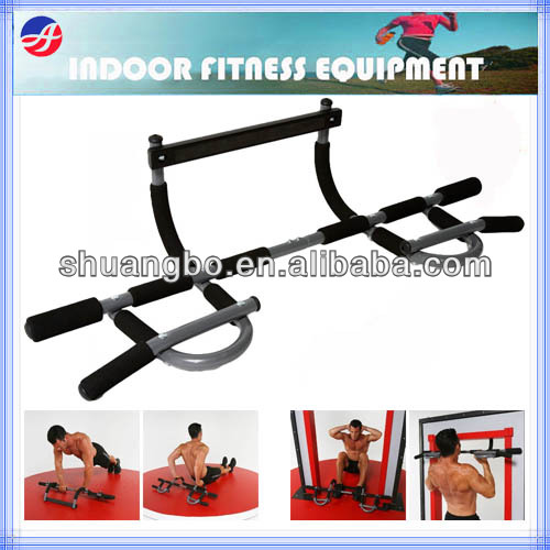 Door Exerciser Chin Pull up Bar with AB Straps for Home Gym