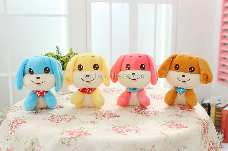 Cute puppy stuffed with stuffed animals toy/puppy dolls for sale/free sample puppy toys