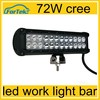 "2015 new 16"" 72w spot flood combo LED work LIGHT BAR off road led light bar whole sale"