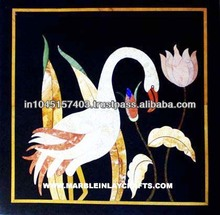 Marquetry Marble Inlay Plaque Pietra Dura Marble Inlay Panel