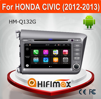 Hifimax Android 7.1 Car DVD For Honda Civic 2012-2013 WITH Quad Core 1080P WIFI 3G INTERNET DVR