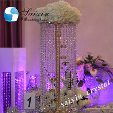 New wedding table centerpiece crystal flower stand ZT-123