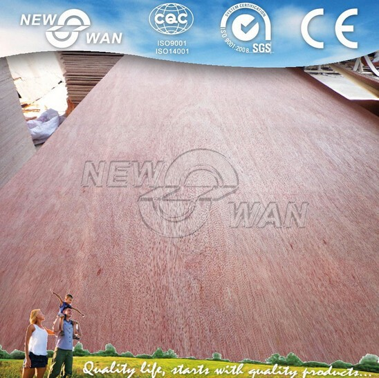 8mm Red Hardwood Plywood to Thailand