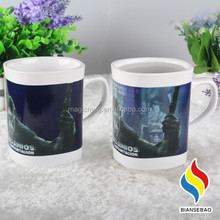 Hot Selling Movie Promotion Ceramic Mug With Color Changing Printing