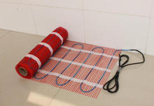 The apartment underfloor heating mat system