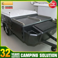 hot sale new steel camper trailer