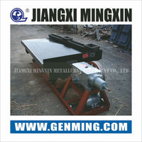High recovery rate low price shaking table for scrap copper recycling for sale