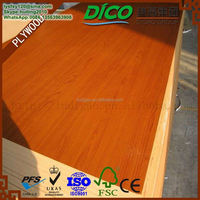 Medium Density Fiberboard Low Price 3mm Melamine Laminated MDF Board